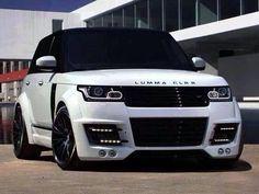 Visit The MACHINE Shop Café... ❤ Best of SUV @ MACHINE... ❤ (2013 Range Rover LUMMA CLRR)