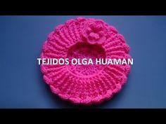 Download video: Boina tejido a crochet para bebe o niña video 2