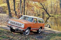 Dodge Ramcharger.  Loved this car.  Good memories:)