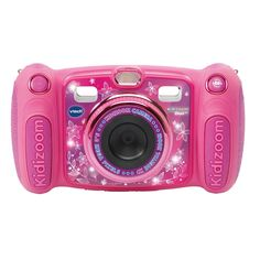 Buy Pink VTech Kidizoom Megapixel Duo Children's Camera with SD Card from our Electronic Toys range at John Lewis & Partners. Free Delivery on orders over Trucage Photo, Funny Effects, Contrôle Parental, Voice Recorder, Pink Kids, Fujifilm Instax Mini, Sd Card, Photos, Buxus
