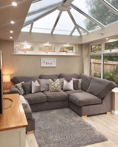 Awesome living kitchen room are readily available on our website. Open Plan Kitchen Living Room, Home Living Room, Living Room Designs, Cosy Living Room Warm, Conservatory Interiors, Conservatory Decor, House Extension Plans, House Extension Design, Living Room Extension Ideas