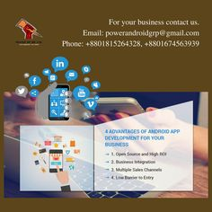For your any kind of Business solution, Contact US.   Email: powerandroidgrp@gmail.com Phone: +8801815264328, +8801674563939  #google #business #job #programming #code #studio #skill #android #ios #website #webdevelopment #iTunes #playstore #apps #top_software_developer #top_android_developer #best_it_company #Marketing #Business #Software #Apps #Mobile #Entrepreneur #Sales #Digital #Tools #business_solution #power_gp_bd_limited Software Apps, Business Software, Business Contact, Contact Us, Open Source, App Development, Android Apps, Ios, Android Developer