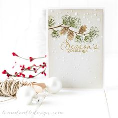 Gorgeous card by Debby Hughes using Simon Says Stamp[ Exclusives.  Stamptember 2014