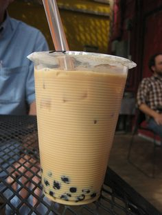 Chai Bubble Tea