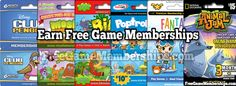 http://freegamememberships.com/ Earn Free Game Memberships for All of Your Favorite Games! Club Penguin, Poptropica, Fantage, Animal Jam, Bin Weevils, Moshi Monsters, and More!