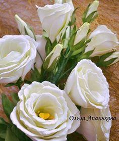 Мастер-классы по созданию реалистичных цветов из фоамирана от Ольги Апальковой