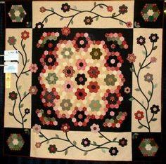 Gorgeous primitive quilt