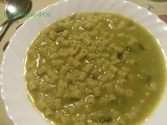 Soupe de ditalini aux pois cassés et fenouil sauvage ou macco de pois cassés Or, Beans, Vegetables, Split Peas, Conch, Fennel, Recipes, Kitchens, Beans Recipes