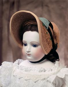 View Catalog Item - Theriault's Antique Doll Auctions - beautiful barrois, 23""