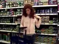 So. Cool.  On Wednesday 14th March around 50 people attempted a mass freeze frame in a Manchester supermarket lasting four minutes. Five cameras captured the event.