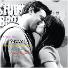 Verity Criss Edit. You gave me a forever within the numbered days and for that I am grateful. Finchel<3