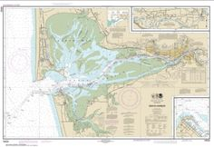 Buy map: Grays Harbor; Westhaven Cove Nautical Chart (18502) by NOAA – YellowMaps Map Store
