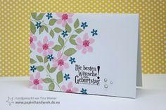 - Papierhandwerk -: Gutschein für Stampin Up Produkte
