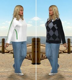 See yourself reaching your goal weight. Create you virtual model for motivation and inspiration!