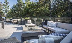 Contemporary outdoor living at The Ridge in Nanaimo, BC.