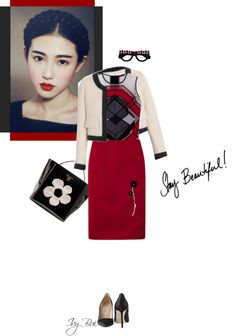 """Stay beautiful"" by ivybui on Polyvore"
