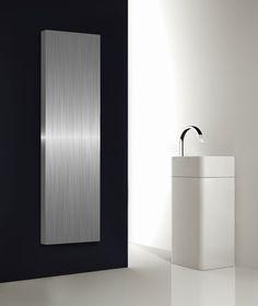 stilo rvs en aluminium woonkamer radiatoren verticaal, verwarming, Deco ideeën