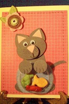Stampin Up Punch Art Ideas | Stampin' Up! Punch Art Diane Klieger Naughty Cat
