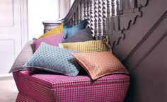 TREMONT, one of the stunning new fabric collections from Romo for Summer 2014