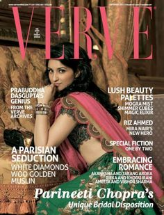 Parineeti Chopra Verve Magazine September 2012 Cover
