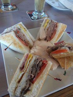 Club sandwich. .!!!!!