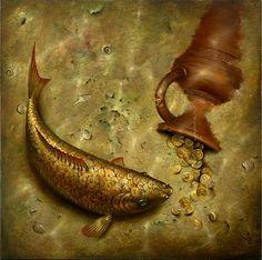 золотая рыбка и клад