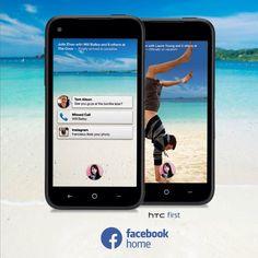 Mes amis, au cœur de mon mobile. Le HTC first 4G, premier mobile à intégrer Facebook Home, sera bientôt disponible en exclusivité chez Orange !  #4GOrange