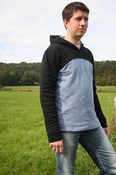 ✂ Schnittmuster Matthias ✂ Kapuzenhoodie für Männer - Schnittmuster & Nähanleitungen bei Makerist