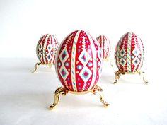 Easter egg art - best trends by Angela Rainsberger on Etsy