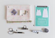 Willow Sew Along: Day 01   Grainline Studio
