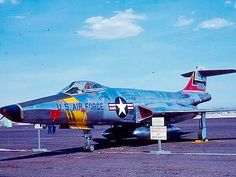 USAF McDonnell RF-101C Voodoo of the 20th TRS.