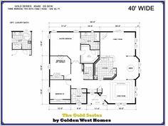 Homes Direct Modular Homes - Model GS501K - Floorplan