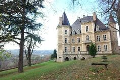 Chateau with Panoramic Views. Villefranche-sur-Saône, Rhône-Alpes. Price Upon Request.
