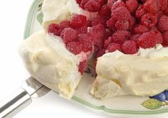 LOW CARB - HIGH PROTEIN RECIPES: BERRY PAVLOVA