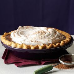 Silky Chocolate Pie Recipe from Taste of Home -- shared by Kathy Hewitt of Cranston, Rhode Island