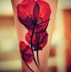 Endearing Poppy Tattoos (17)