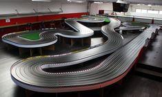 Race Car Sets, Slot Car Race Track, Slot Car Racing, Slot Car Tracks, Slot Cars, Race Tracks, Auto Racing, Hot Rods, Las Vegas