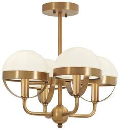 Minka Lavery Tannehill Aged Brass Transitional Incandescent Semi-flush Mount Light at Lowe's. The Tannehill collection by Minka Lavery is a deconstructed version of a traditional fixture. Curved aged brass finish rods are solid bundled and flare Semi Flush Lighting, Flush Ceiling Lights, Flush Mount Ceiling, Ceiling Fixtures, Wall Sconce Lighting, Light Fixtures, Bedroom Lighting, Ceiling Fans, Interior Lighting