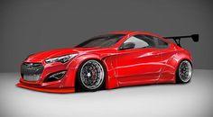 Blood Type Racing Hyundai Genesis Coupe