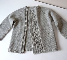 Ravelry: knittingant's Olive You Baby cardigan