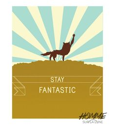 Fantastic mr. fox print fantastic mr fox by HommeSurLaLune on Etsy