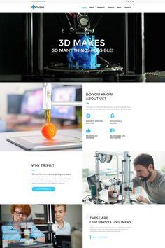 Print Shop Moto CMS HTML Template #65269
