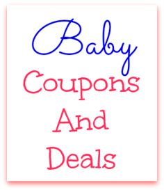 Baby offers coupons uk