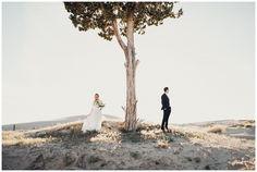 Eden Strader Photography, Little Sahara Sand Dunes Bridals, Sand Dunes Formals, Long sleeve lace dress, boho bridals, barefoot bride, boho bride, destination wedding photographer, engagement posing ideas