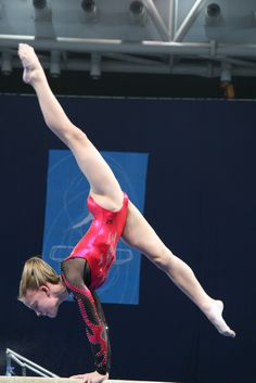 gymnast on balance beam, grace, form, gymnastics #KyFun m.43.6 moved from Gymnastics: The Balance Beam board