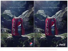 Coca Cola VS Pepsi Halloween Ads