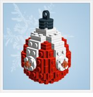 lego ornaments--directions and pieces list