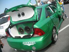 Mean, green KICKER machine!