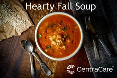 The weather has cooled down and squash is in abundance. Roasted or mashed with salt, pepper and a little butter is a classic, but after a while it can get a little boring. Try Hearty Sausage, Kale and Butternut Squash Soup instead from Coborn Cancer Center Clinical Dietitian Emily Rothstein, RD, CSO. Vegetable Soup With Chicken, Chicken And Vegetables, Healthy Eating Tips, Eating Habits, Easy Delicious Recipes, Healthy Recipes, Italian Soup, Butternut Squash Soup, Pressure Cooker Recipes