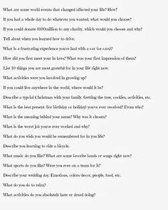 100 Journal Questions - Busy Moms Helper